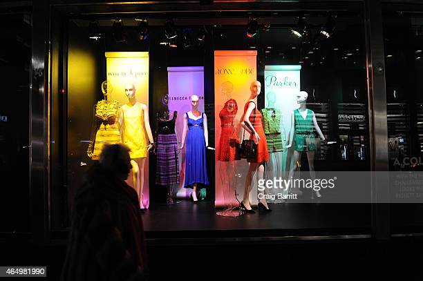Atmosphere at The Selective Looks Inspired By Classic Crayola Hues Event Ronny Kobo Parker Cynthia Rowley Milly Rebecca Taylor and Amanda Uprichard...