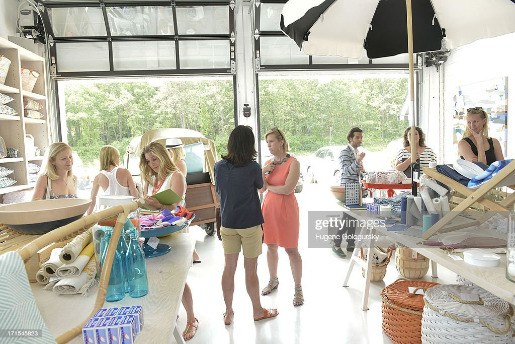 Atmosphere at the Serena & Lily Host Private Shopping Event to Benefit Baby Buggy at Its Hamptons Store on June 26, 2013 in Wainscott, New York.