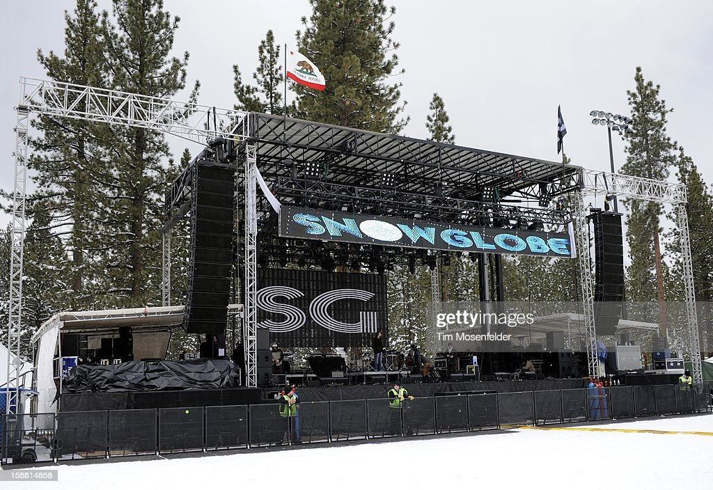 Atmosphere at the Snowglobe Music Festival at Lake Tahoe Community College on December 29, 2012 in South Lake Tahoe, CA.