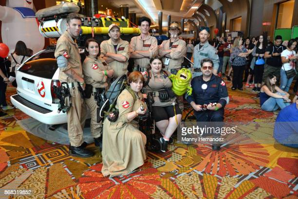 Atmosphere at the Spooky Empire Horror Convention at the Hyatt Regency on October 28 2017 in Orlando Florida