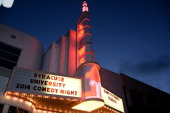 Atmosphere at the Syracuse University and the Jack Oakie and Victoria Horne Oakie Charitable Foundation present Comedy Tonight with the cast and...