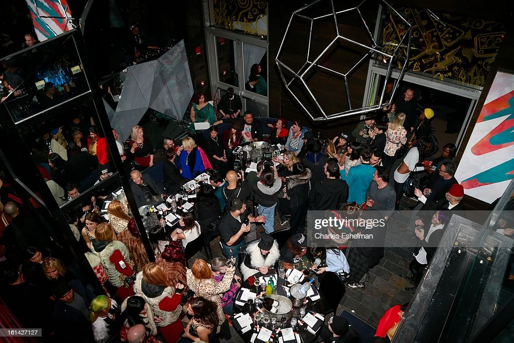 Atmosphere at the T @ Toy Party on February 10, 2013 in New York City.