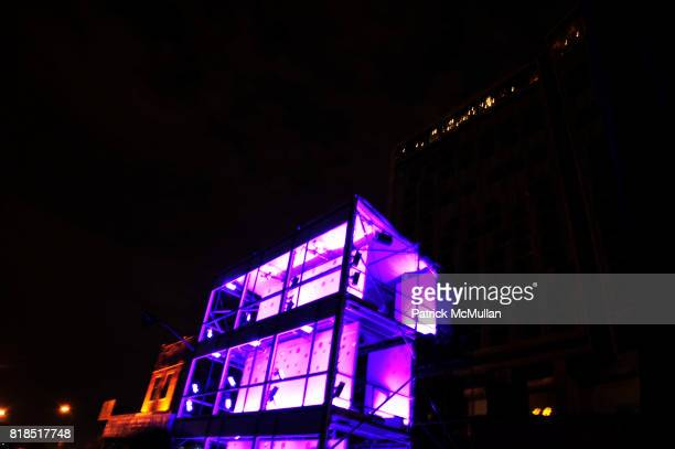 Atmosphere at The Target Kaleidoscopic Fashion Spectacular Lights up New York City at The Standard on August 18 2010 in New York City