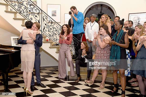 Atmosphere at the Tea With Victoria Summer at British Consulate General Residence To Benefit Teen Cancer America on August 23 2016 in Los Angeles...