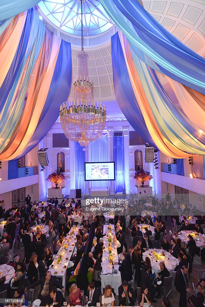 Atmosphere at the The East Harlem School 2013 Fall Benefit Honoring Susan And Alan Patricof on November 11, 2013 in New York City.