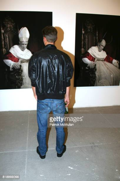 Atmosphere at 'The Transformation of ENRIQUE MIRON as El Diablo' by PAUL ROWLAND at 548 W 22nd St on April 29 2010 in New York