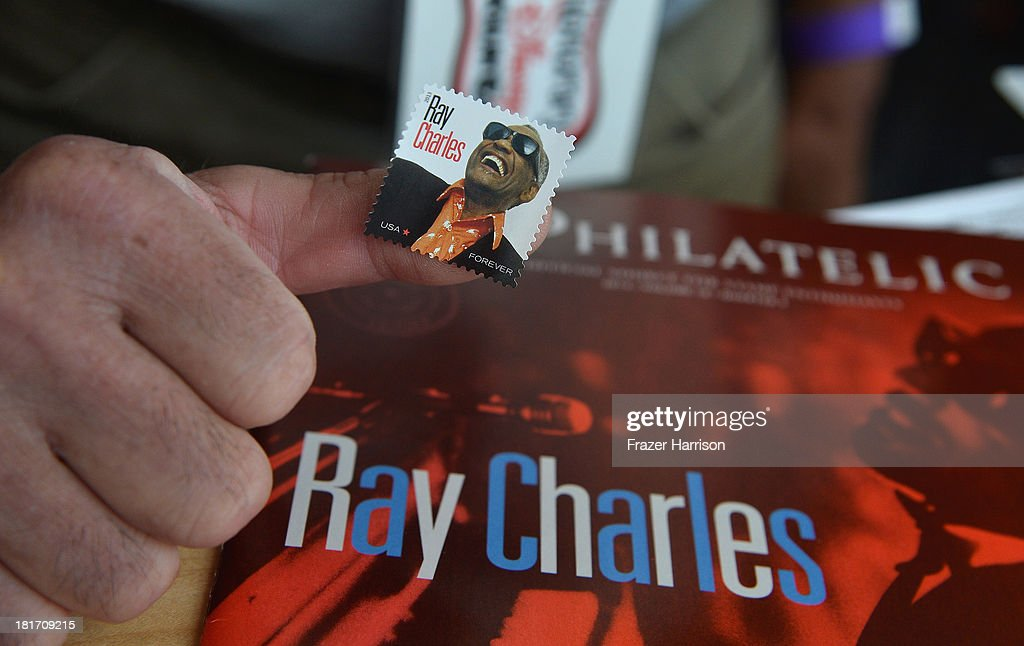 Atmosphere at the unveiling of the new Ray Charles stamp at the GRAMMY Museum in Los Angeles, Calif, on Monday, September 23, 2013. The limited-edition stamp is part of the Music Icons stamp series and is available for sale starting today, on what would have been his 83rd birthday, at post offices nationwide