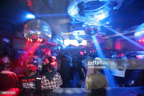 Atmosphere at the VFILES MADE FASHION After Party during MercedesBenz Fashion Week Fall 2015 at Space Ibiza on February 11 2015 in New York City