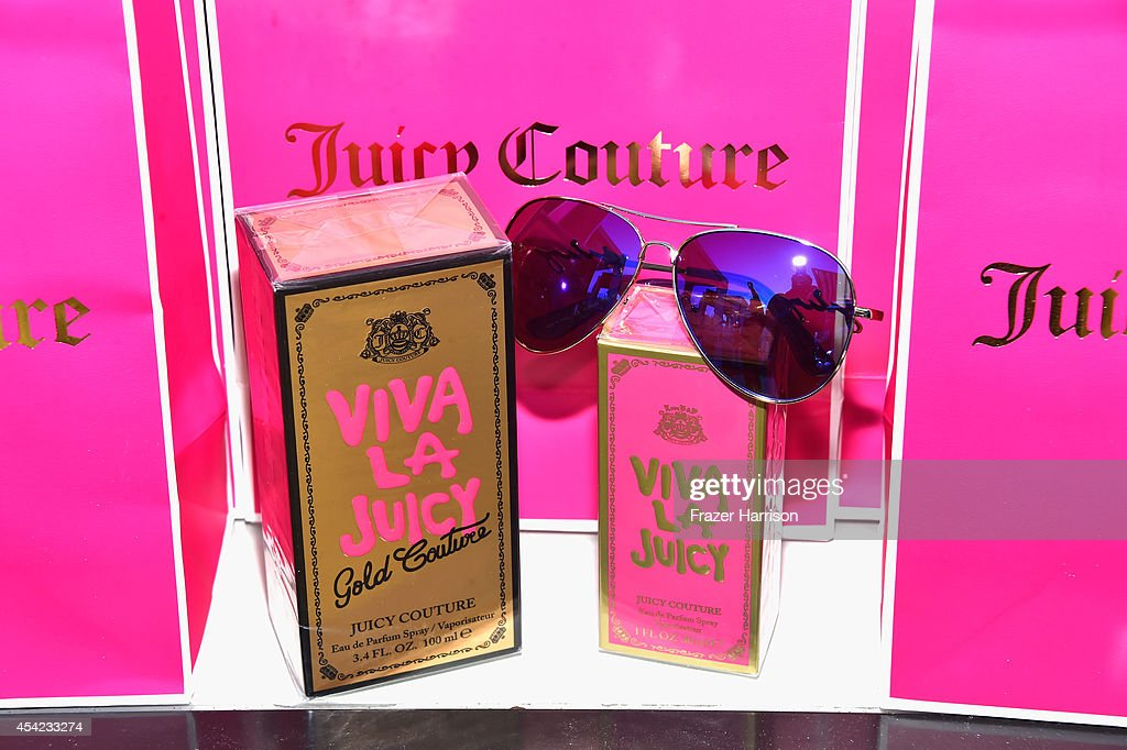Atmosphere at the Viva La Juicy Gold Couture Launch With Alexandra Daddario at The London Hotel on August 26 2014 in West Hollywood California