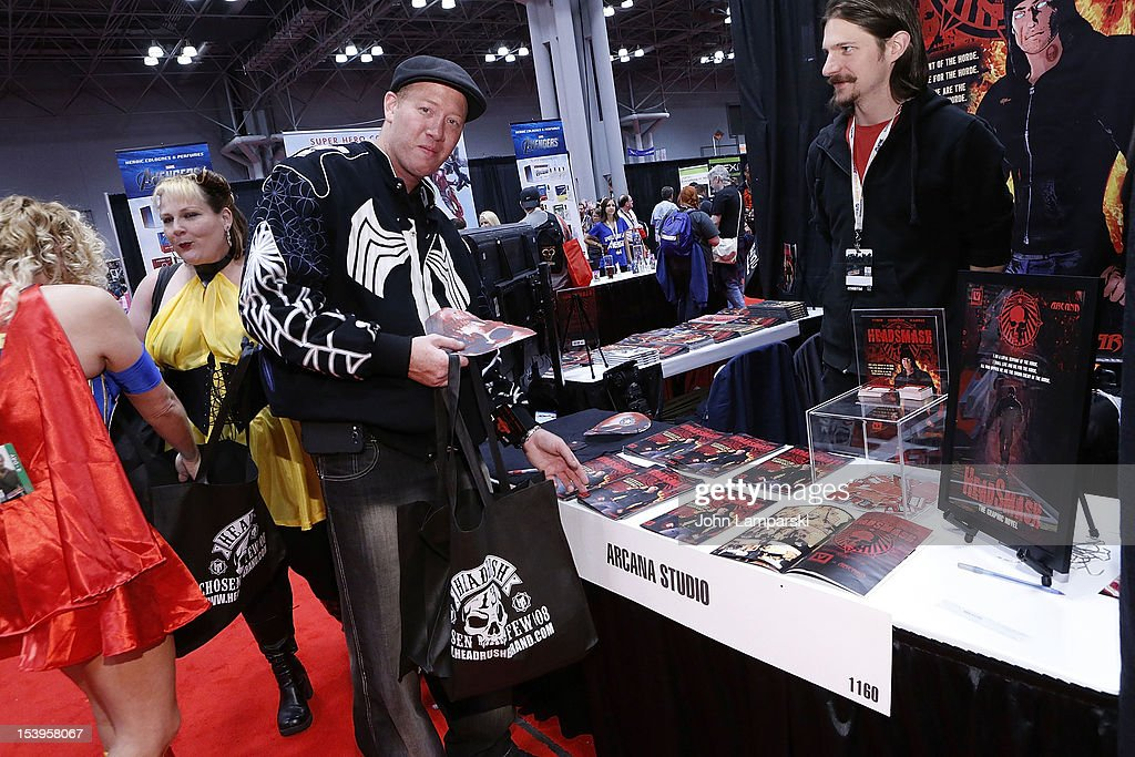 Atmosphere at The Vladar Company And Arcana Comics Present The 1st Edition Of HEADSMASH at Jacob Javitz Center on October 11, 2012 in New York City.