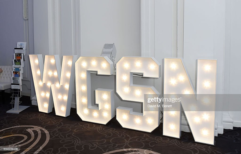 Atmosphere at the WGSN Futures Awards 2016 on May 26, 2016 in London, England.
