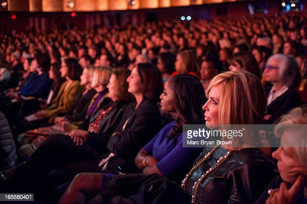 Atmosphere at the Women in the World Summit 2013 on April 4 2013 in New York United States