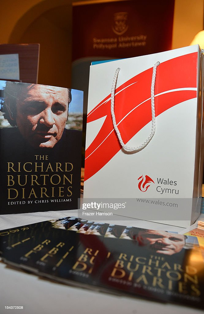 Atmosphere at Wales Celebrates the launch of 'The Richard Burton Diaries' hosted by The Welsh Government, Swansea University and Yale University Press held at the British British Consul-General residence, Hancock Park on October 18, 2012 in Los Angeles, California.