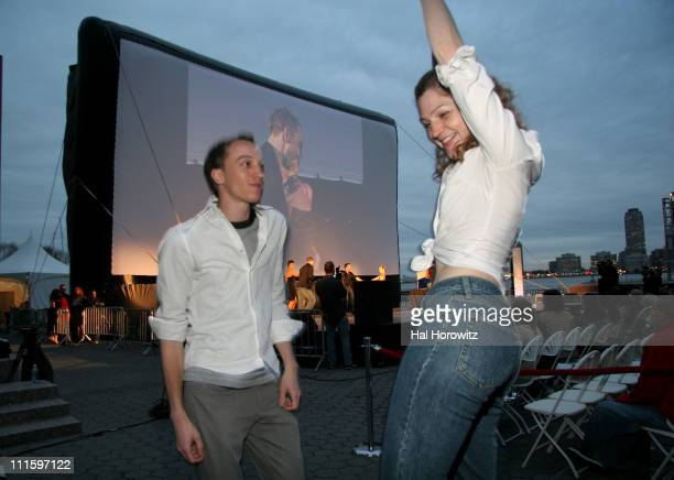 Atmosphere during 6th Annual Tribeca Film Festival 20th Anniversary Screening of 'Dirty Dancing' at Clearview Cinemas in New York City New York...