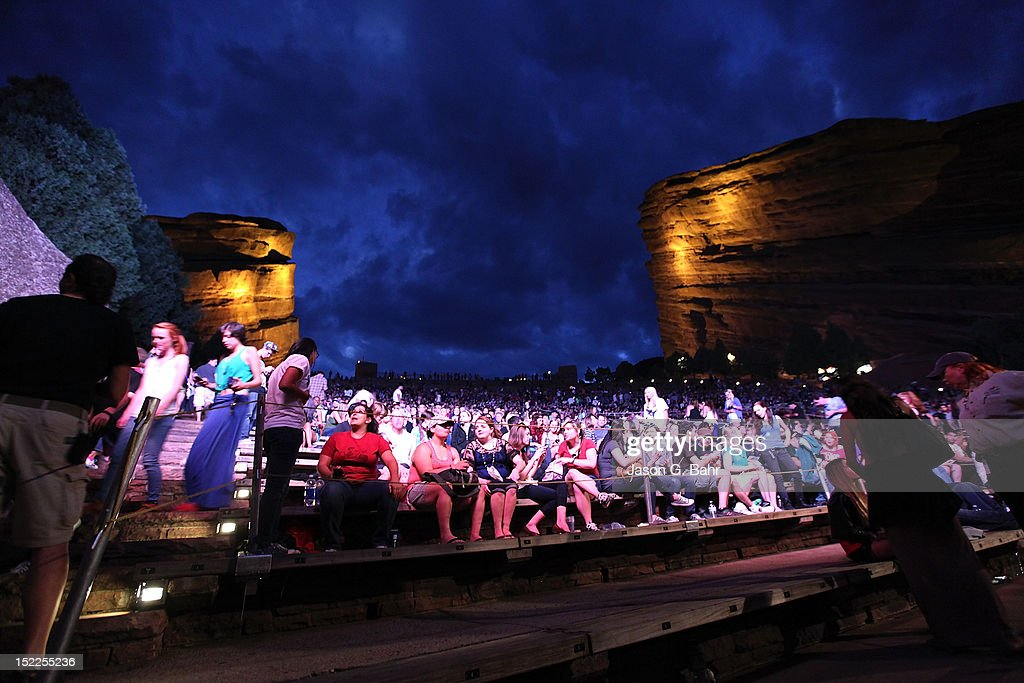 Atmosphere during 93.3's Big Gig at Red Rocks Amphitheatre on September 16, 2012 in Morrison, Colorado.