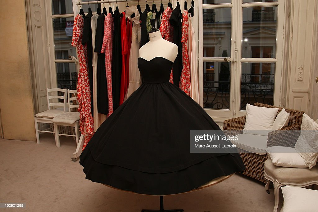 Atmosphere during a private cocktail reception for the presentation of the Delphine Manivet Collection during Paris Fashion Week Fall/Winter 2013 on February 28, 2013 in Paris, France.