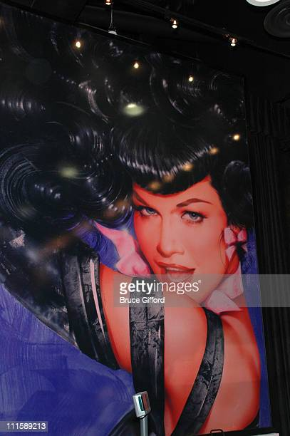 Atmosphere during Bettie Page Meet and Greet at Bettie Page in Las Vegas Nevada United States