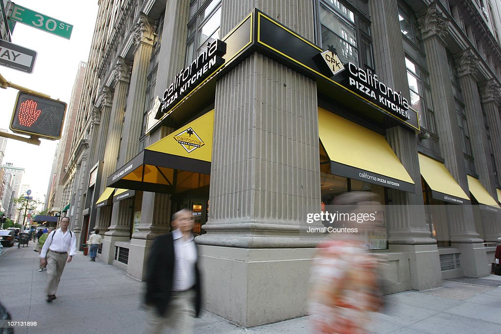 Atmosphere During California Pizza Kitchen Opens On Park Ave. South In New  York City