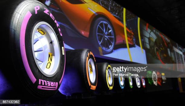 Atmosphere during ceremony of the return of Pirelli to the Milan StockExchange on October 4 2017 in Milan ItalyAbout two years from the delisting...