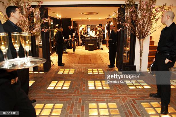 Atmosphere during Chrome Hearts Party for Elle Accessories Magazine Hosted by Richard Stark and Laurie Lynn Stark at Chrome Hearts New York in New...