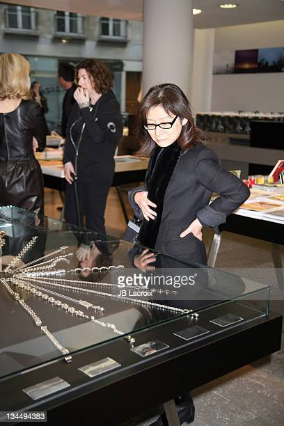 Atmosphere during Chrome Hearts Press Event January 26 2006 at Colette Store in Paris France
