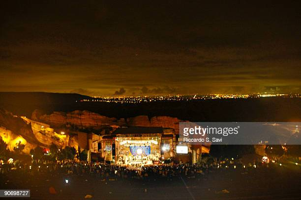 Atmosphere during Day 1 of the Monolith Festival held at Red Rocks Amphitheatre on September 12 2009 in Denver Colorado