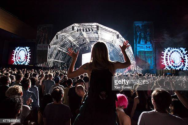 Atmosphere during day 3 of Sonar Music Festival on June 20 on June 20 2015 in Barcelona Spain