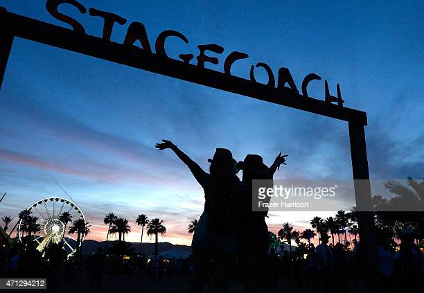 Atmosphere during day three of 2015 Stagecoach California's Country Music Festival at The Empire Polo Club on April 26 2015 in Indio California