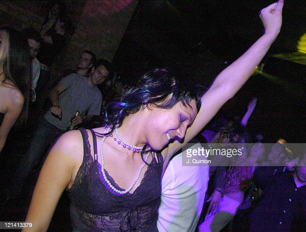 Atmosphere during Diesel U Music Awards 2004 at Fabric Nightclub in London Great Britain