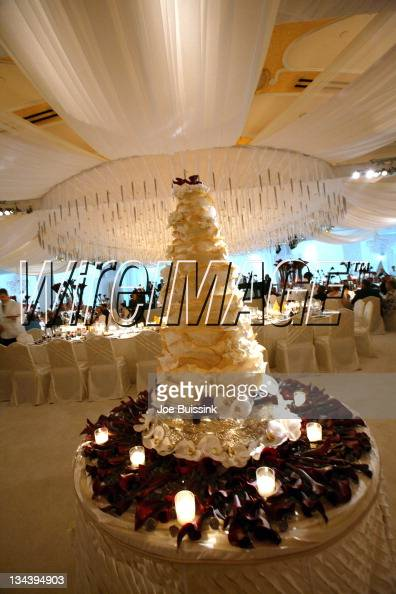 Atmosphere during dr phil s son jay mcgraw and erica dahm wedding