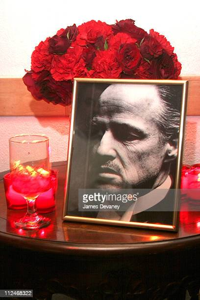 Atmosphere during EA Games Launches ''The Godfather'' the Game at Il Cortile in New York City New York United States