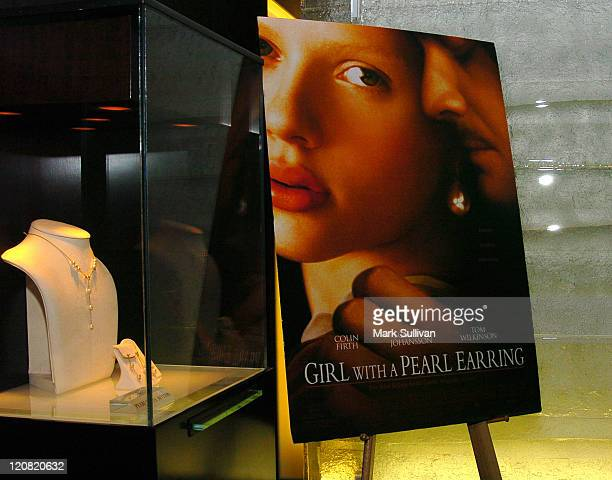 Atmosphere during 'Girl With A Pearl Earring' Cocktail Party at Mikimoto Beverly Hills at Mikimoto in Beverly Hills California United States Photo by...