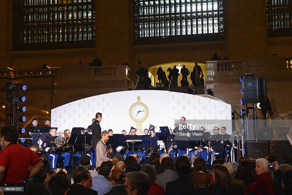 Atmosphere during Grand Central Terminal 100th Anniversary Celebration at Grand Central Terminal on February 1, 2013 in New York City.