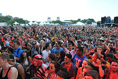 Atmosphere during Major Lazer perform during 2016 Panorama NYC Day 1 at Randall's Island on July 22 2016 in New York City