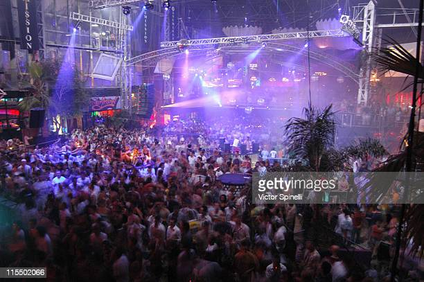 Atmosphere during Manumission Week 5 The Largest Party in the World at Privilege in Ibiza Spain