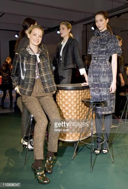 Atmosphere during MercedesBenz Fashion Week Fall 2007 Philosophy di Alberta Ferretti Presentation at 548 West 22nd Street in New York City New York...