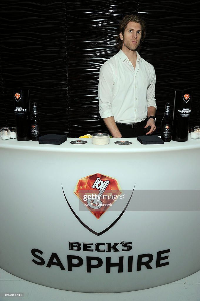 Beck's Sapphire Pops Up To Celebrate Super Bowl on January 29, 2013 in New York City.