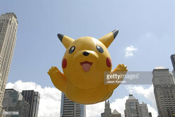Atmosphere during Pokemon 10th Anniversary Celebration with Hulk Hogan August 8 2006 at Bryant Park in New York City New York United States