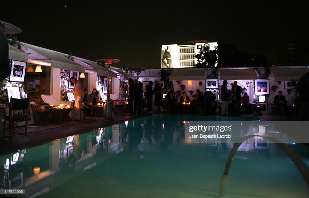 Atmosphere during Rock and Shop for MS at Sky Bar at the Mondrian in Hollywood, California, United States.