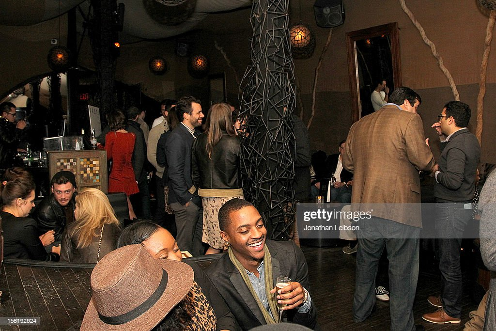 Atmosphere during 'Save the Date' Screening Hosted By genart And Brancott Estate Wines After Party at Hyde Lounge on December 10, 2012 in Los Angeles, California.