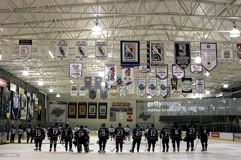 Atmosphere during 'Stars with Sticks' Annual Celebrity Hockey Classic at Toyota Sports Center in El Segundo California United States