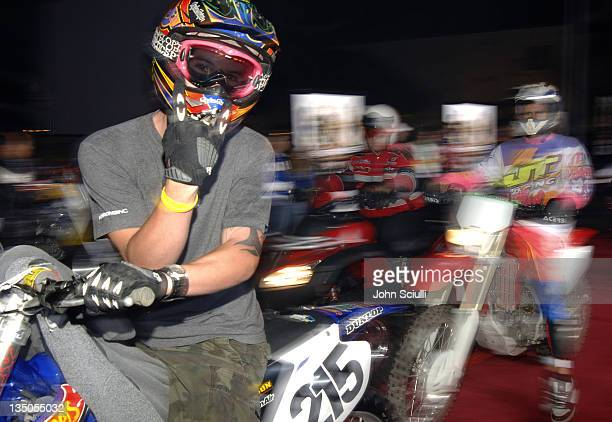 Atmosphere during 'Supercross' Los Angeles Premiere Red Carpet at Veterans Administration Complex in Westwood California United States