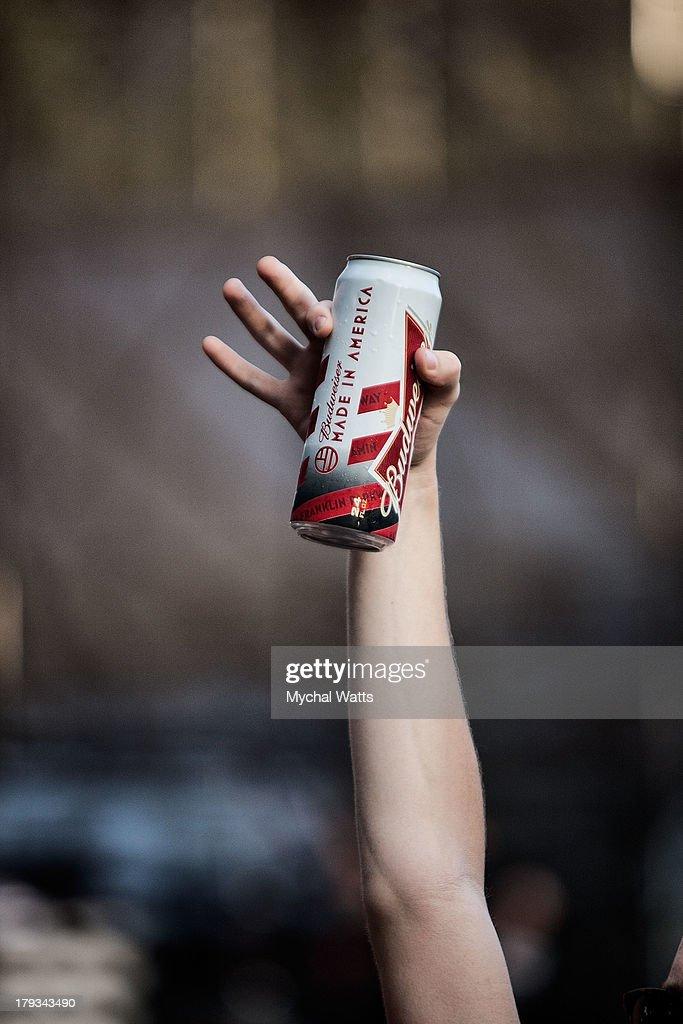 Atmosphere during the 2013 Budweiser Made In America Festival at Benjamin Franklin Parkway on September 1, 2013 in Philadelphia, Pennsylvania.
