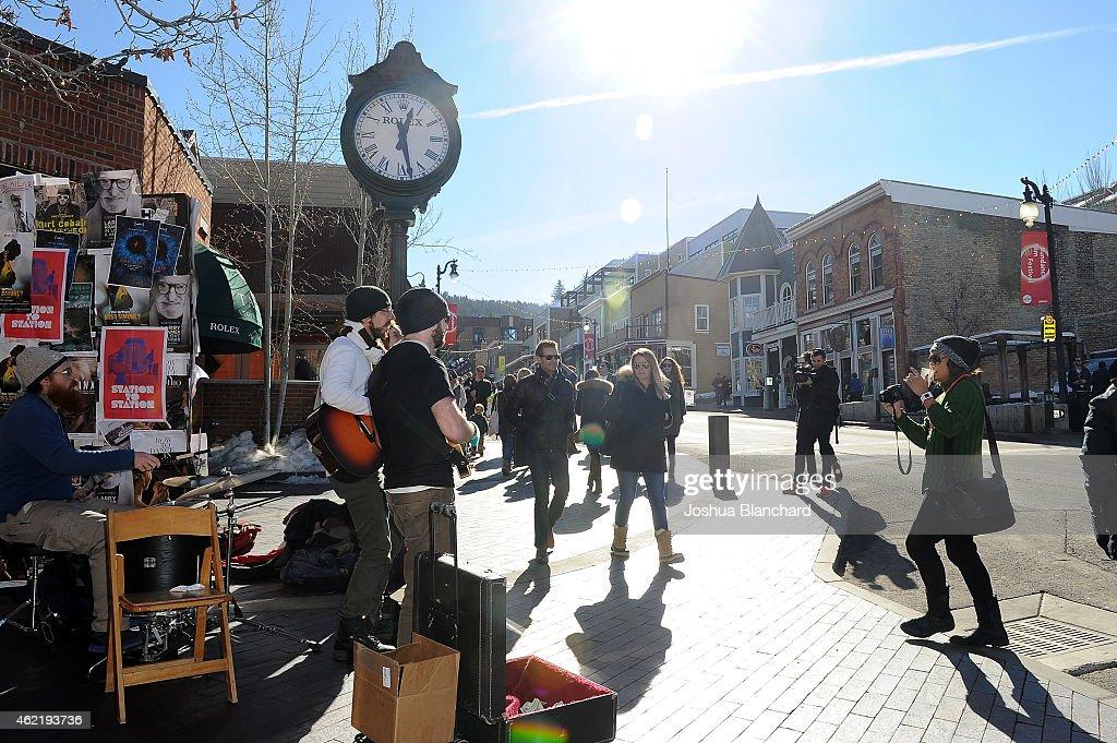 Atmosphere during the 2015 Sundance Film Festival>> on February 1 2015 in Park City Utah
