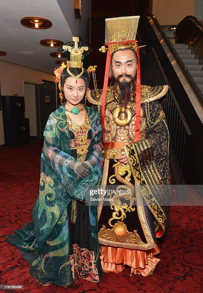 Atmosphere during the announcement of a new spectacular entertainment and travel destination in China located in Xi'An on site of the legendary Terra Cotta Warriors & Horses, at Minskoff Theatre on August 28, 2013 in New York City.