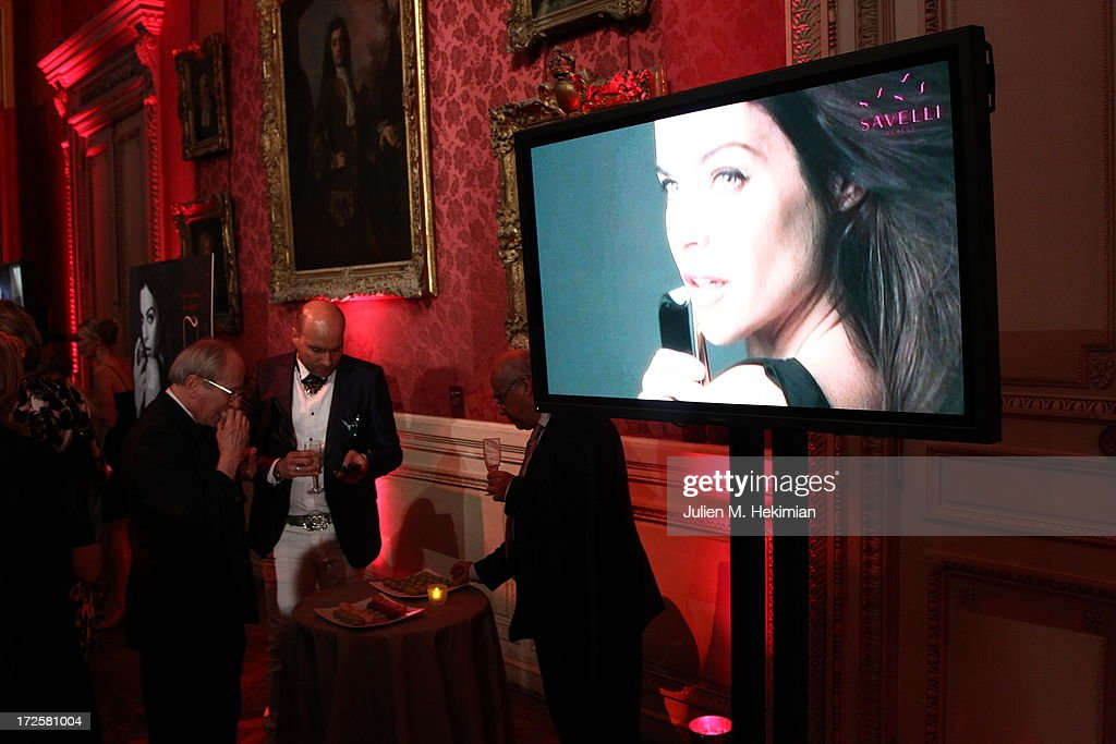 Atmosphere during the CEO Alessandro Savelli And Contemporary Style Icon Julia Restoin Roitfeld Launch SAVELLI The World's First Luxury Smart Phone Especially For Women During Haute Couture Week at Musee Jacquemart-Andre on July 3, 2013 in Paris, France.
