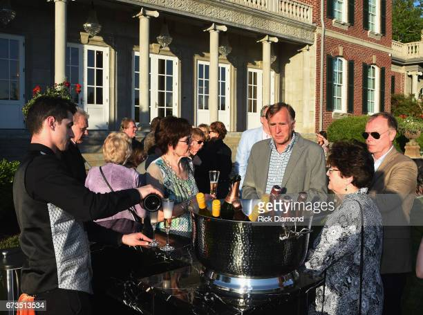 Atmosphere during The Country Music Hall Of Fame And Museum Annual Honor Society Membership Event at The Arndt Estate on April 25 2017 in Brentwood...