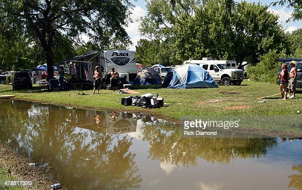 Atmosphere during the day 3 of the 20th Anniversary of Kicker Country Stampede on June 27 2015 at Tuttle Creek State Park in Manhattan Kansas