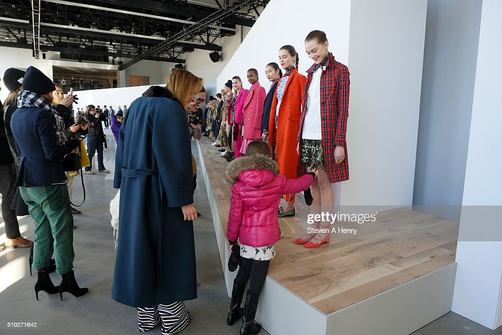 Atmosphere during the J. Crew Presentation Fall 2016 at Spring Studios on February 14, 2016 in New York City.