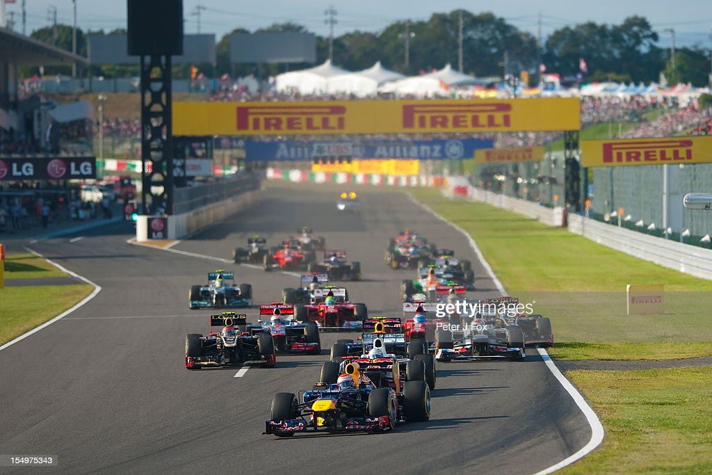 Atmosphere during the Japanese Formula One Grand Prix at the Suzuka Circuit on October 7, 2012 in Suzuka, Japan.